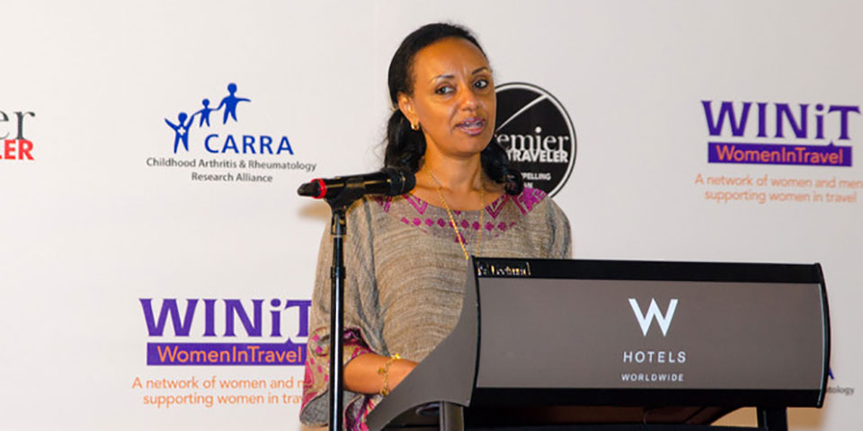 Rahel Assefa, l'unique femme de l'executive team d'Ethiopian Airlines (EA)