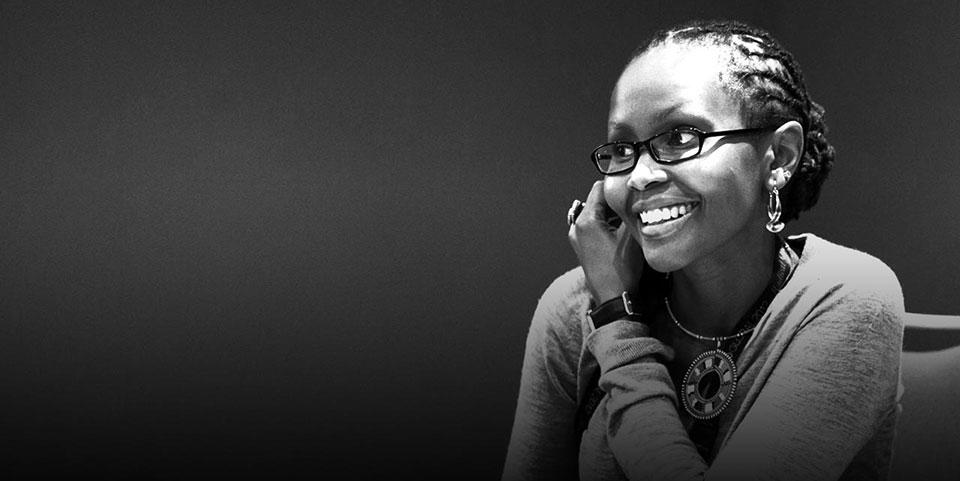 Juliana Rotich, experte des TIC, responsable Afrique de l'Est de BASF, le plus grand groupe de chimie au monde