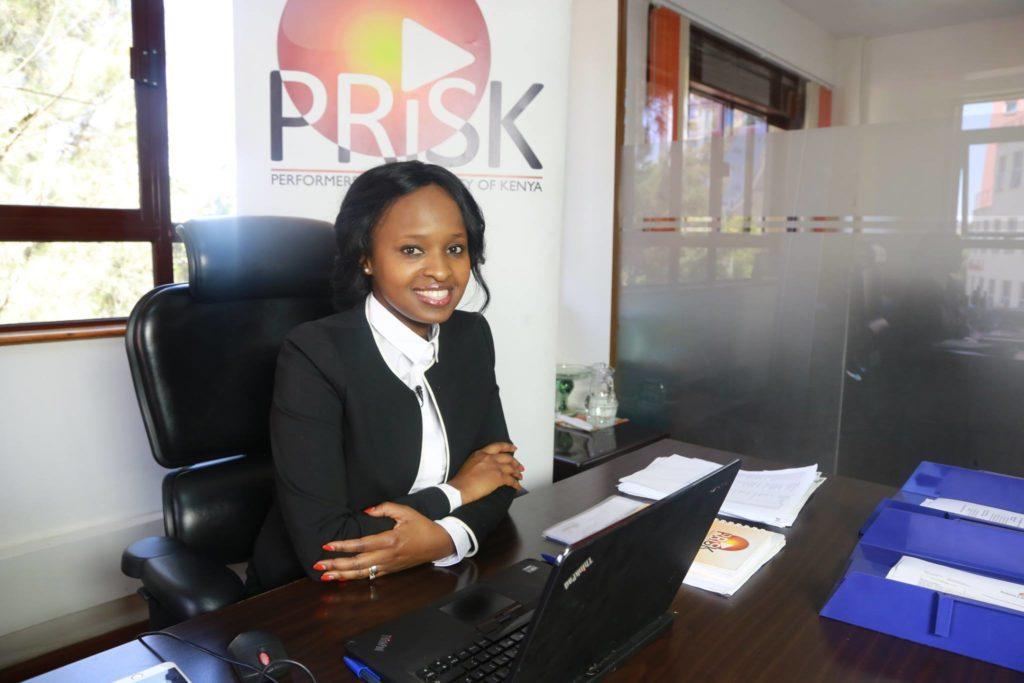 Angela Ndambuki nommée vice-présidente de l'association kényane des producteurs de musique
