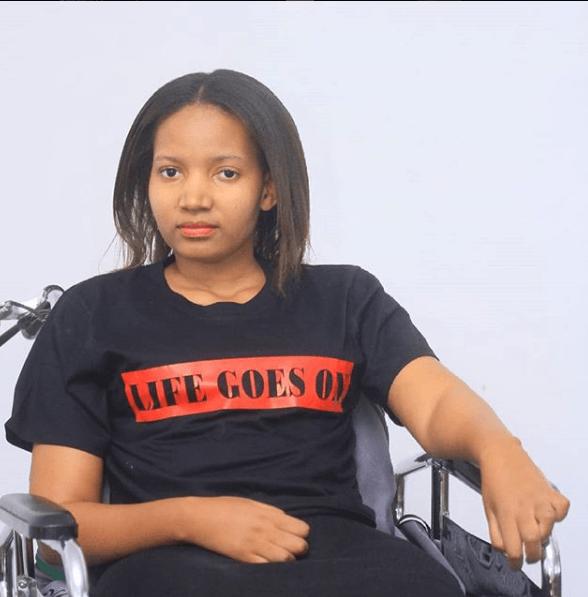 Wakonta Kapunda, 25 ans, tétraplégique, scénariste, fondatrice et CEO d'une startup
