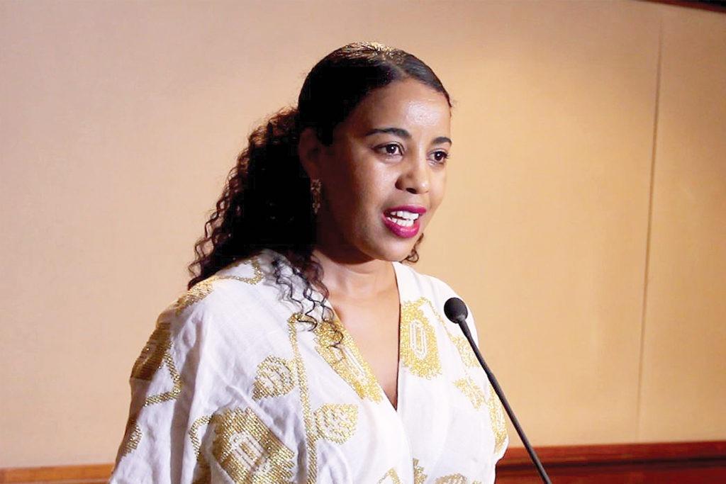Frehiwot Tamiru, première femme CEO d'Ethio Telecom, la plus grande société de télécommunications en Afrique