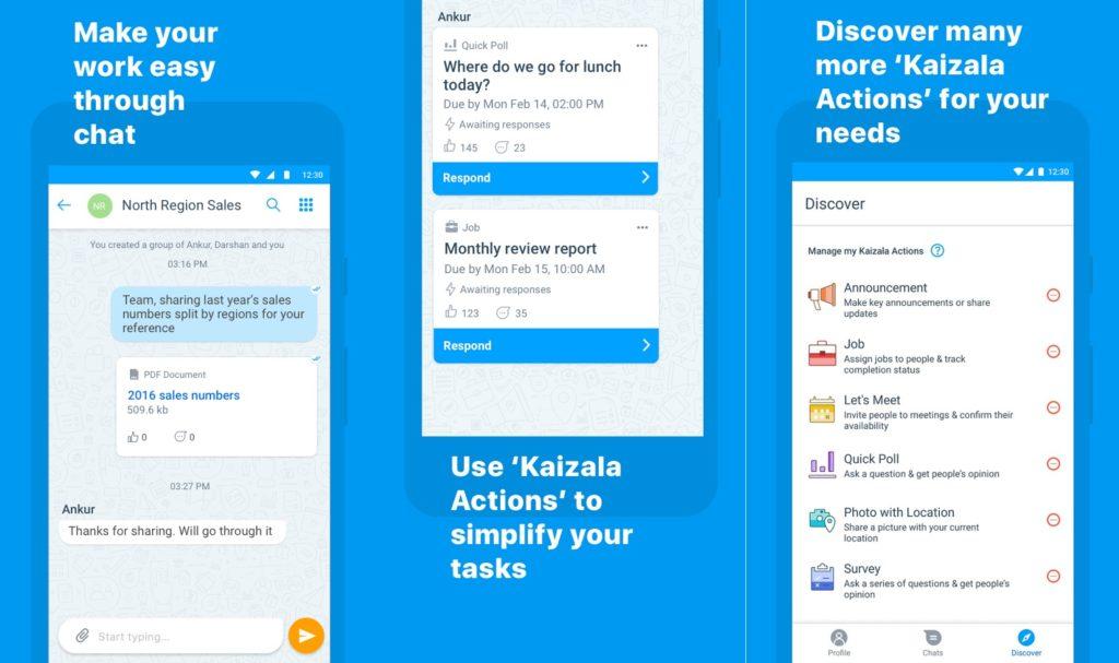Microsoft lance «Kaizala Pro» la «technologie de la 4ème révolution industrielle» pour la productivité des entreprises