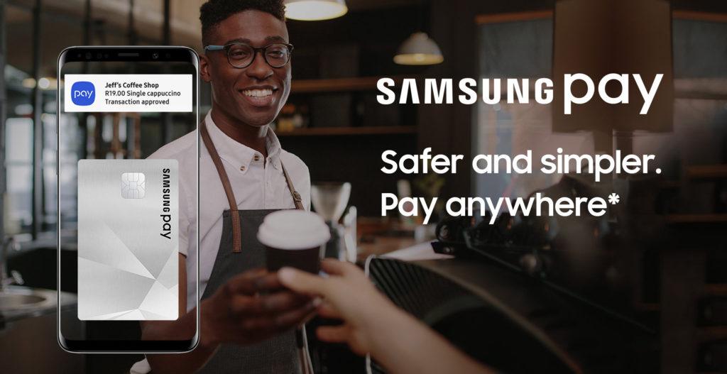 Samsung Pay lancé en Afrique du Sud, une première en Afrique