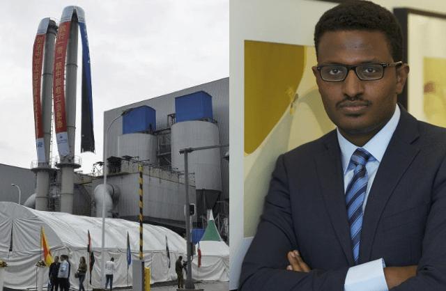 Samuel Alemayehu, concepteur de la plus grande usine en Afrique de conversion de déchets en énergie