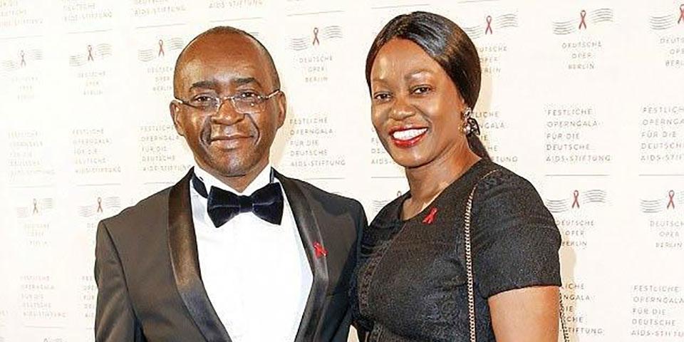 Le Milliardaire Strive Masiyiwa Et Son Épouse Tsitsi Honorés Par La Première Ministre Britannique