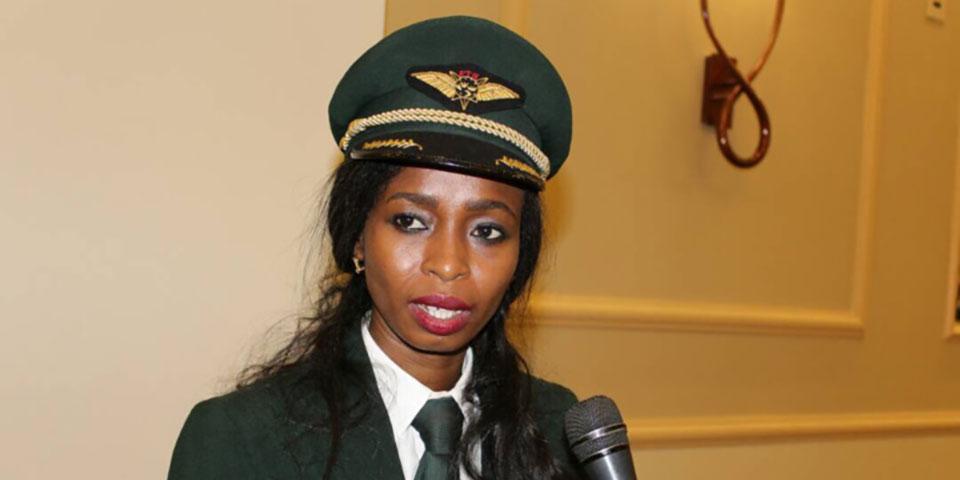Zenaba Issa Oki Soumaine, Première Femme Pilote De Ligne Au Tchad