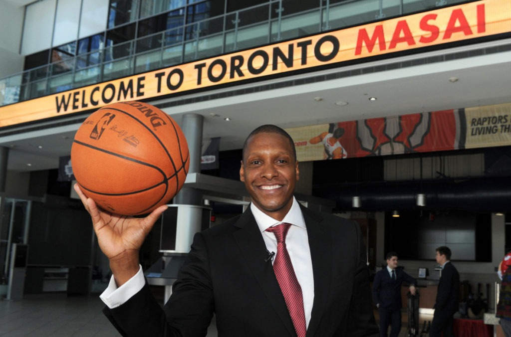 Masai Ujiri, le premier africain manager general d'un club de la NBA