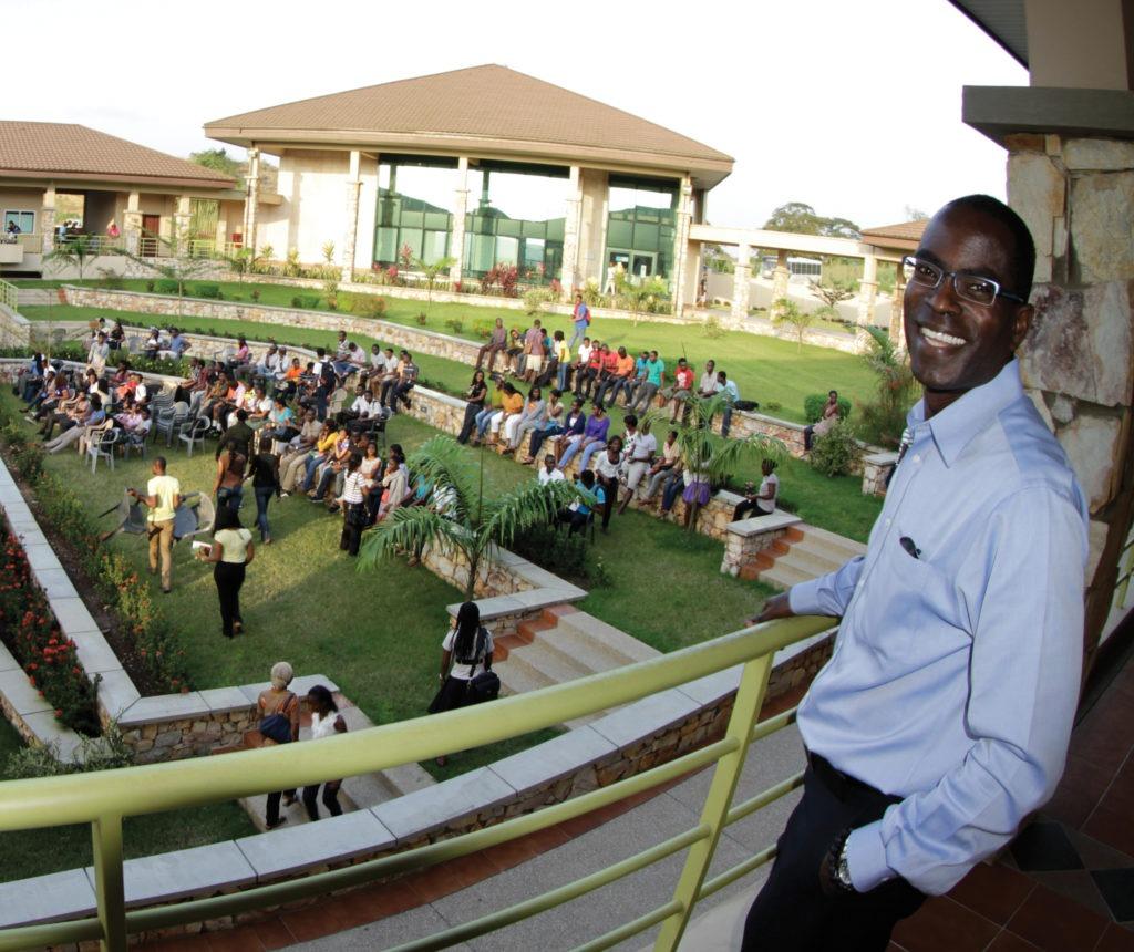 Patrick Awuah, fondateur de l' ultra-moderne université Ashesi au Ghana