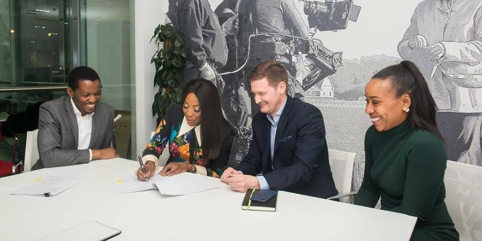 Nollywood Signe Sa Première Collaboration Avec Un Studio De Production Américain