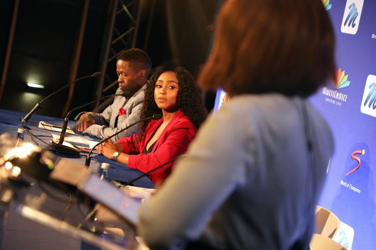 Thabile Ngwato et Thokozani Nkosi, créateurs de la nouvelle chaîne d'informations de DSTV