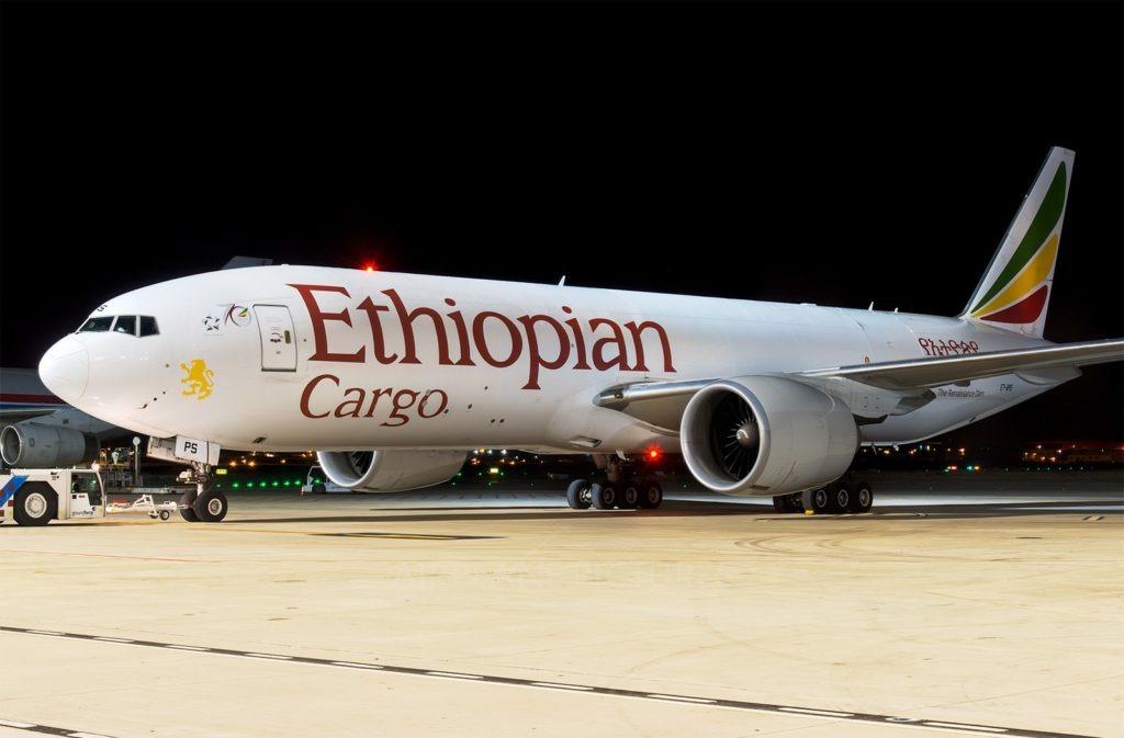 Ethiopian airlines lance la toute première route de fret entre l'Afrique et Miami
