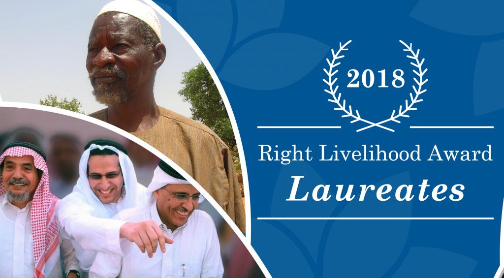 Yacouba Sawadogo, «l'homme qui a arrêté le désert», lauréat du Prix Nobel alternatif
