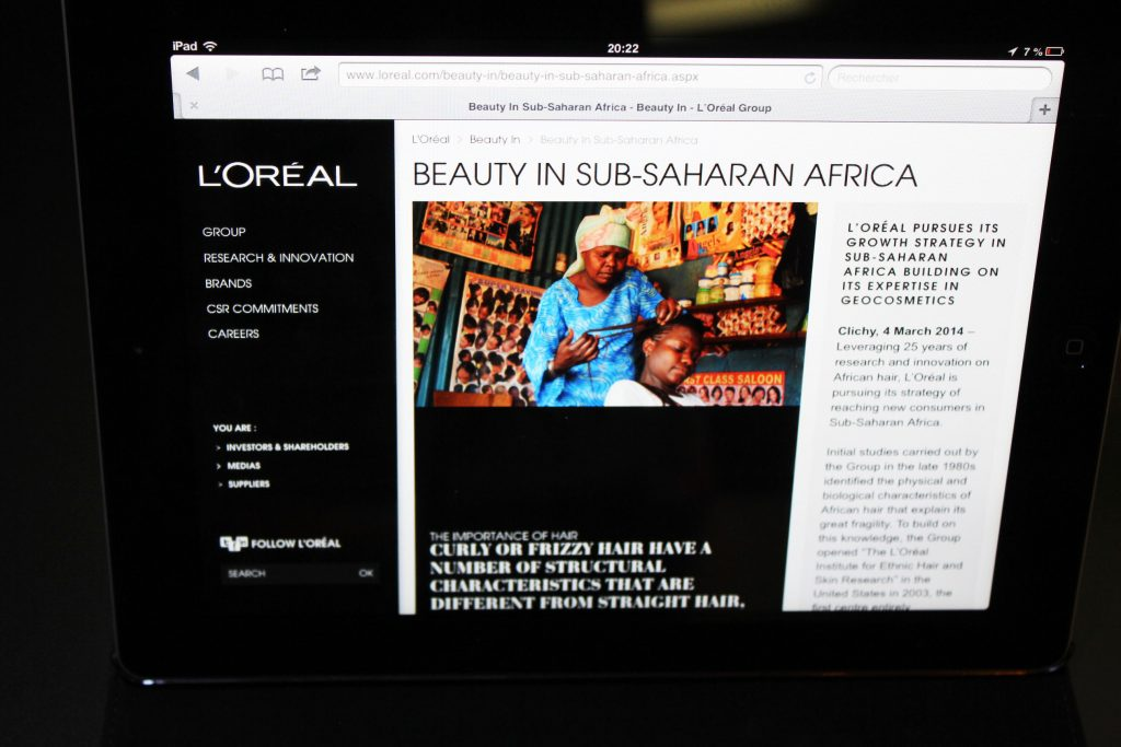 L'Oréal va investir dans des startups technologiques en Afrique