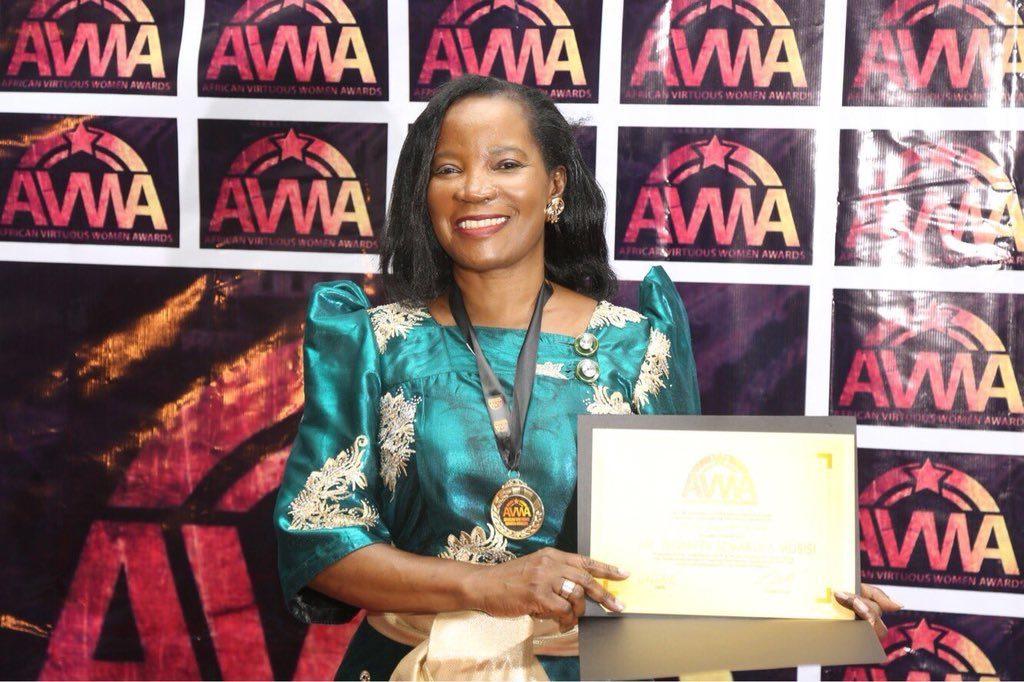 African women leadership Awards: Jennifer Semakula Musisi remporte l'«African Virtuous Women Award»