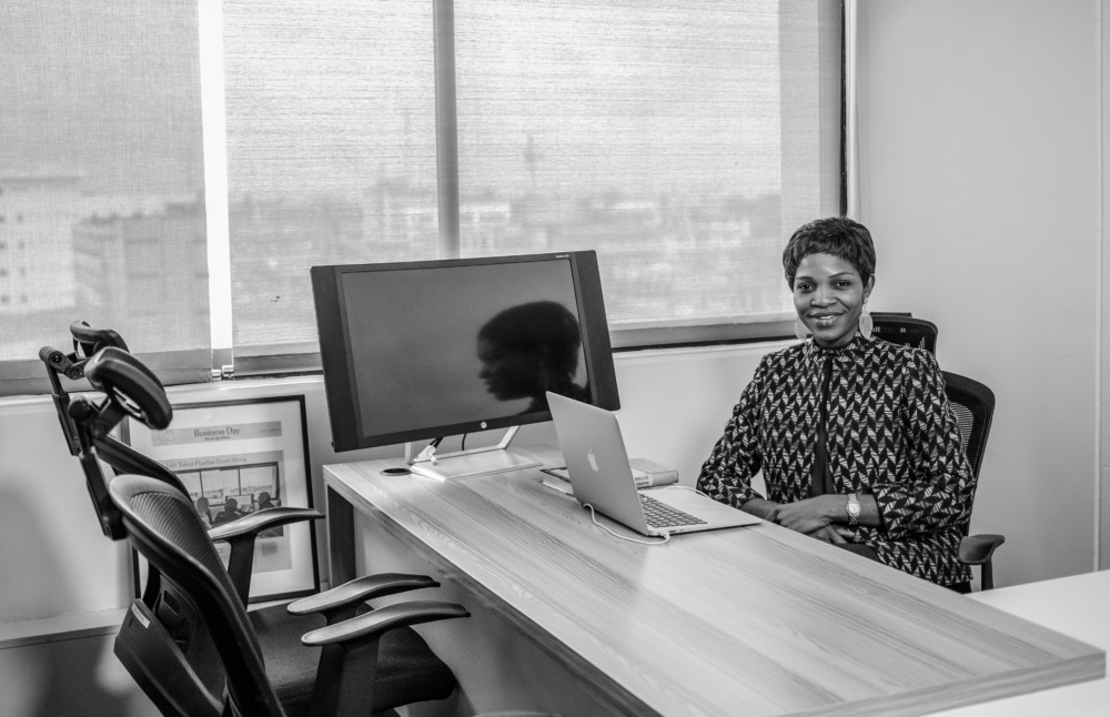 Omowale David-Ashiru, première femme nommée Country Manager d'Andela au Nigeria