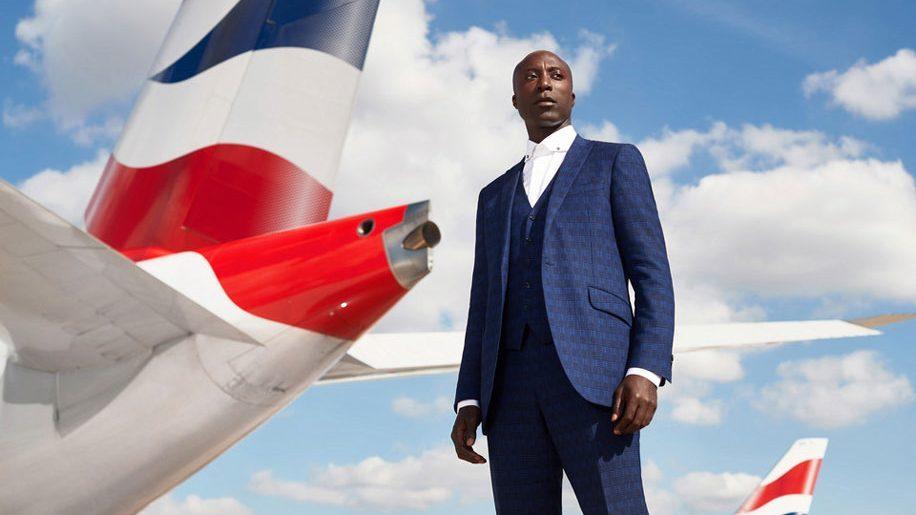 Ozwald Boateng va créer 32 000 uniformes pour British Airways