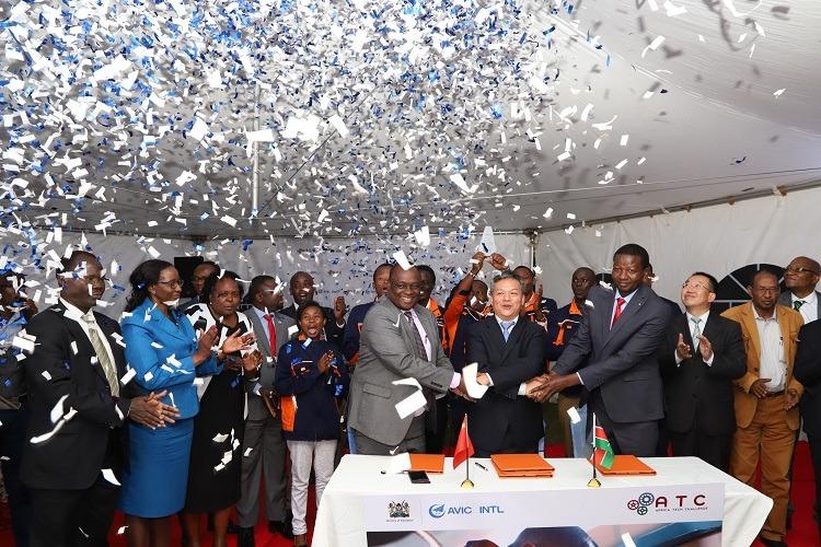 Africa Tech Challenge: des étudiants Kényans décrochent un contrat de fourniture de pièces de rechange vers la Chine
