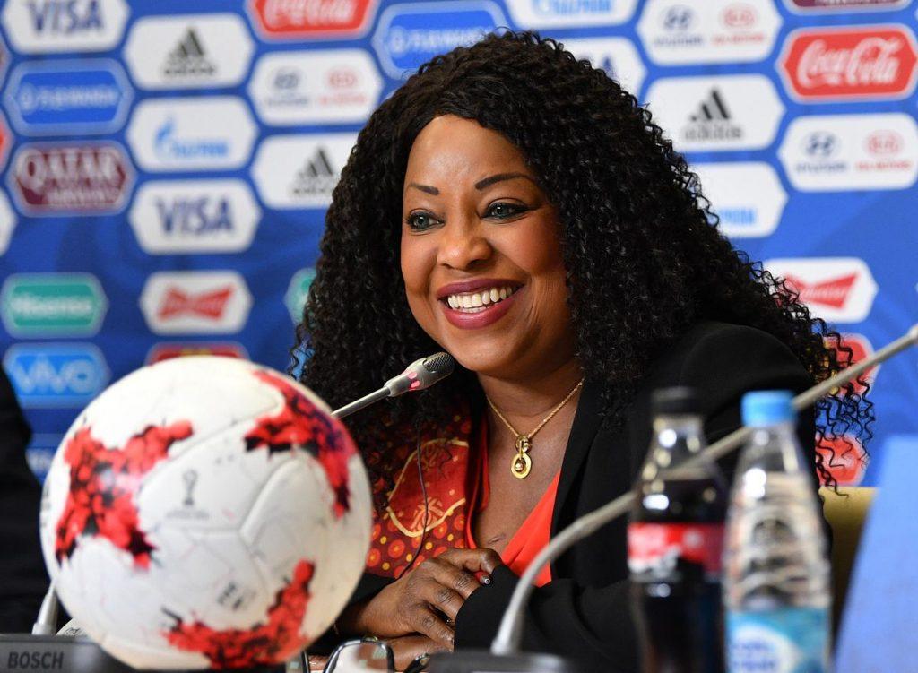 Fatma Samoura, secrétaire générale de la FIFA, lauréate du premier Prix du Sport de l'ARDN