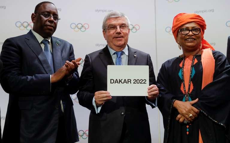 Le Sénégal va abriter les premiers jeux olympiques en Afrique