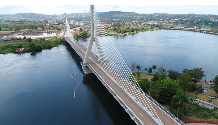Ouganda: inauguration de «La source du Nil », le premier pont à haubans du pays