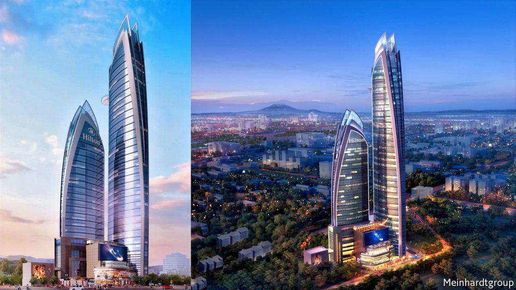 Abdinasir Ali Hassan et Mahat Mohamoud Noor, bâtisseurs du plus haut gratte-ciel d'Afrique