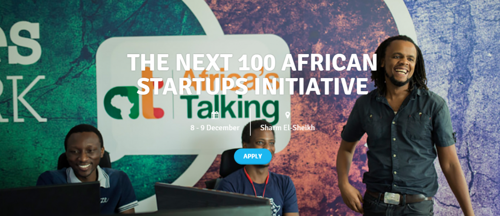 « The Next 100 African Startups initiative », un concours pour participer au forum Africa 2018 en Egypte