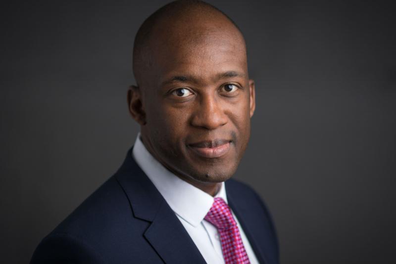 Tavaziva Madzinga, CEO de SwissRe au Royaume-Uni et en Irlande