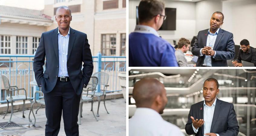 Dion Shango, 42 ans, nouveau CEO de PricewaterhouseCoopers en Afrique