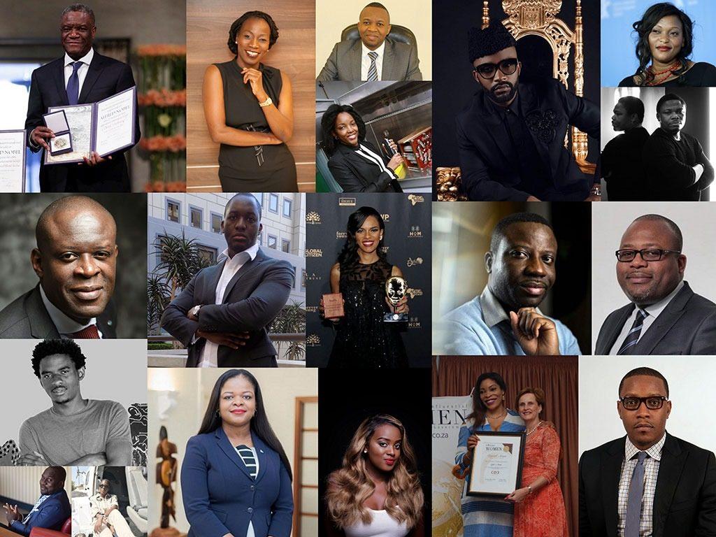 Rétrospective : quelques personnalités congolaises honorées en 2018