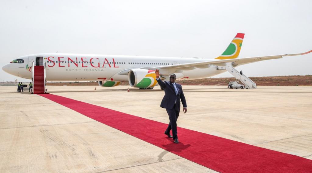 Le Sénégal se dote du premier Airbus A330neo en Afrique