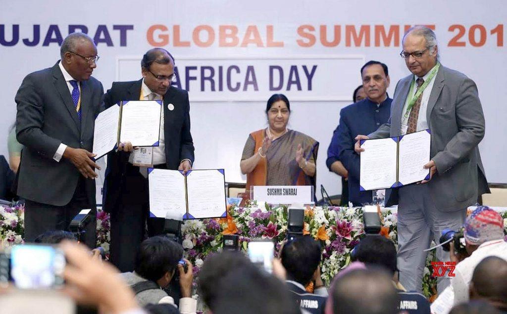 Afrique-Inde: les échanges bilatéraux évalués à 62,66 milliards de dollars en 2018