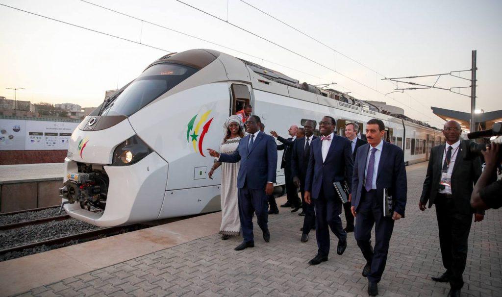 Sénégal: réception du TER et inauguration de la gare de Dakar rénovée