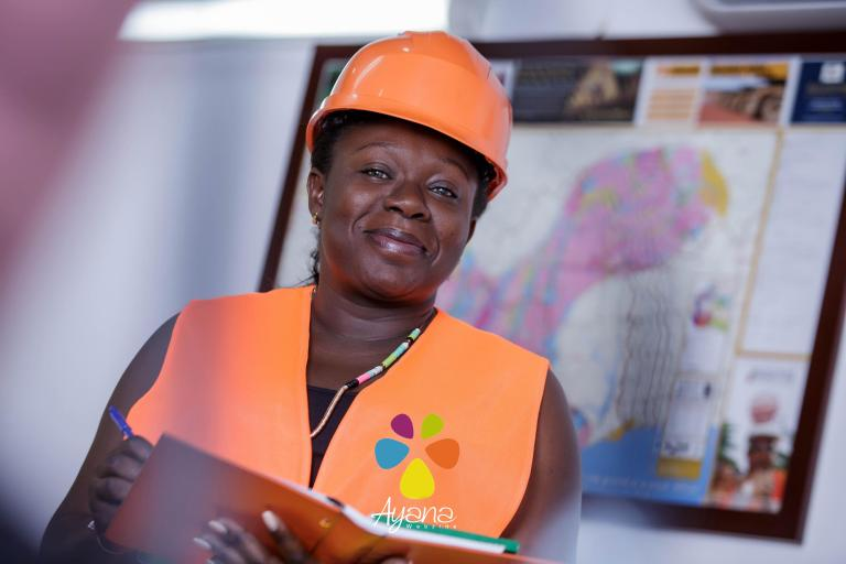 Christine Logbo-Kossi, première femme Directrice d'une chambre des mines en Afrique de l'Ouest