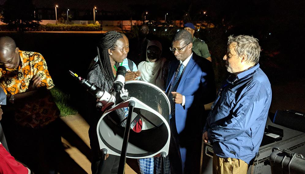 Salma Sylla, première astrophysicienne du Sénégal