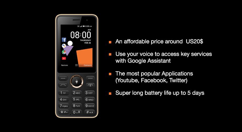Orange lance « Sanza », le mobile à 20 dollars et à reconnaissance vocale, dans 16 pays d'Afrique