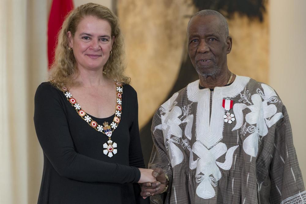 Lamine Touré décoré de l'ordre du Canada