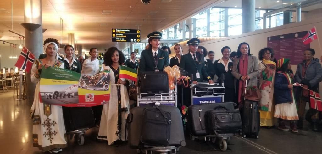 Journée de la femme : Nouveau vol avec un personnel féminin réussi pour Ethiopian Airlines