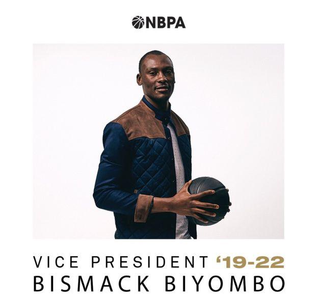 NBA: le congolais Bismack Biyombo, 26 ans, élu Vice-président de l'association des joueurs
