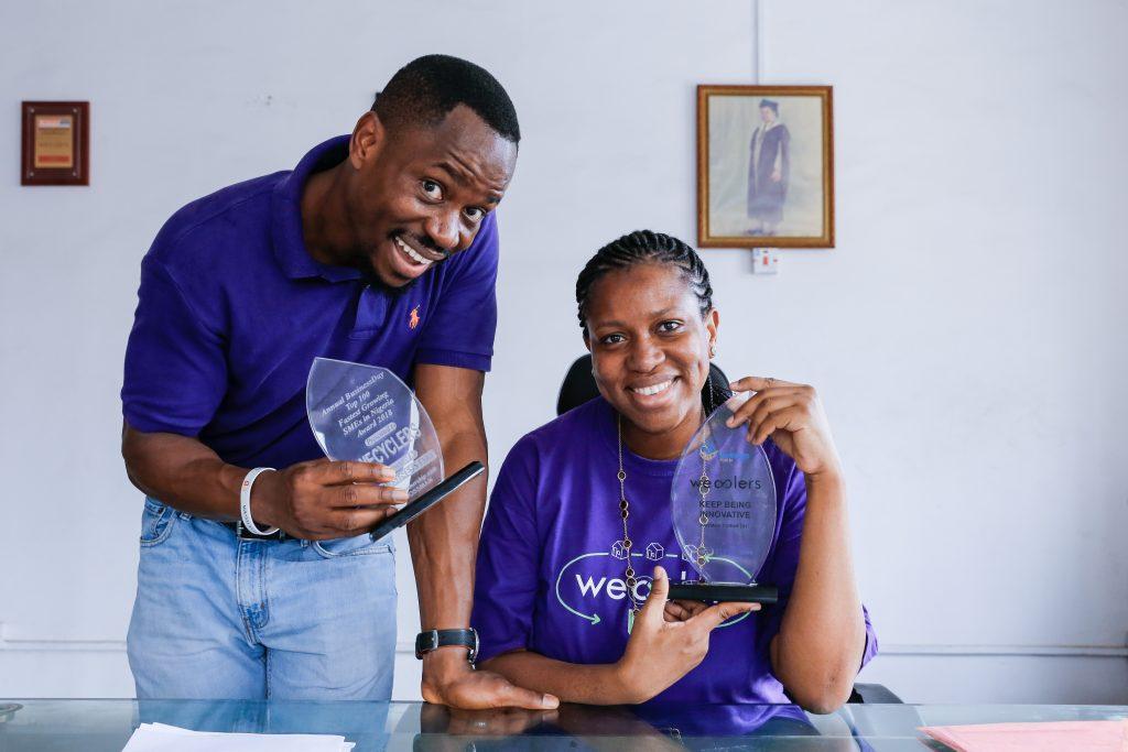 Nigeria: l'entreprise WeCyclers, lauréate du Prix Roi Baudouin pour le Développement en Afrique