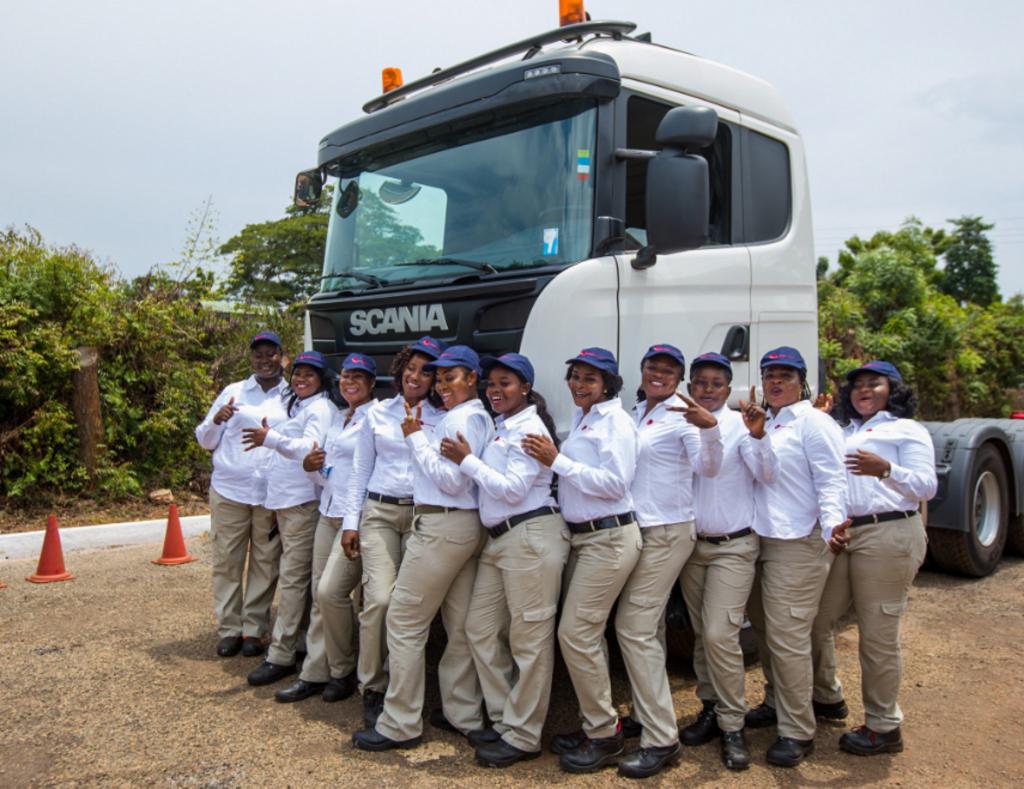 Ghana: Ladybird Logistics, l'entreprise de logistique «All lady Drivers»