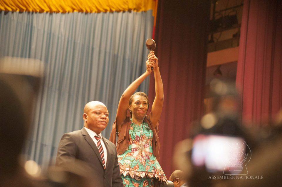 RDC: Jeanine Mabunda, première femme élue présidente de l'Assemblée nationale