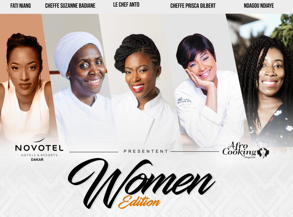 Anto Cocagne:«cette édition de We eat Africa mettra en lumière les femmes chefs africaines»