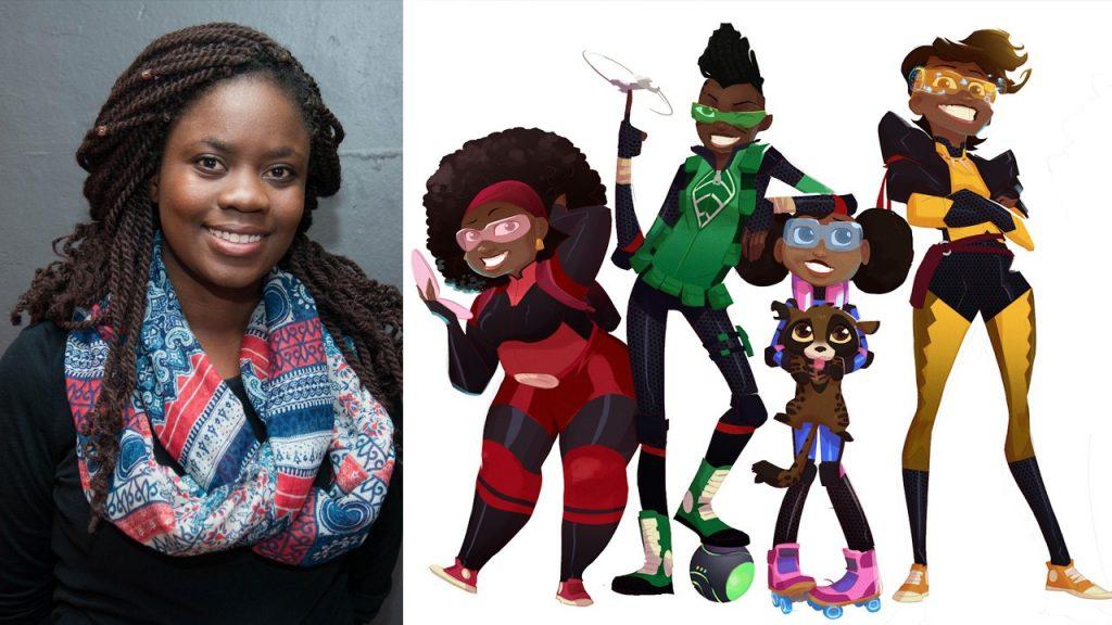 Zambie: Malenga Mulendema, créatrice de la 1ère série animée de Netflix en Afrique