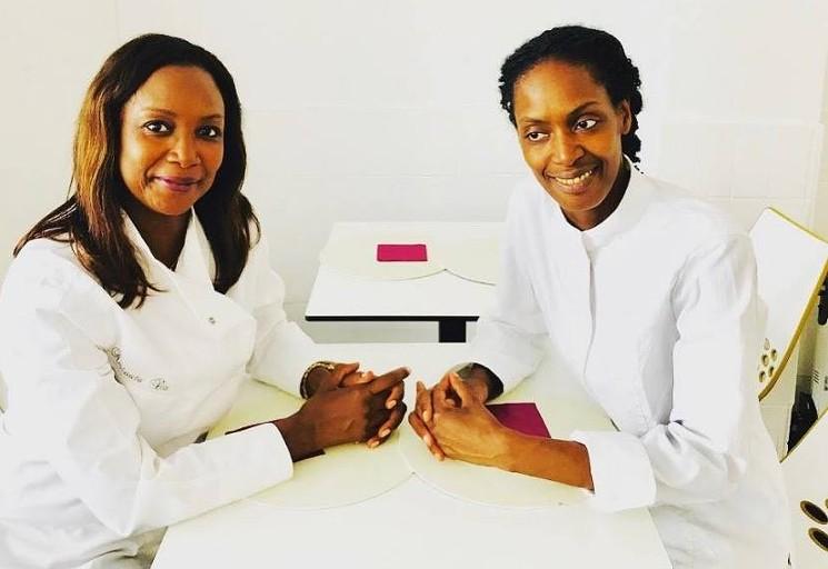 USA: Rougui et Aminata Dia, propriétaires du nouveau restaurant «Le French»