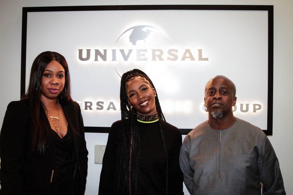 Nigeria: Tiwa Savage signe un contrat exclusif avec Universal Music Group
