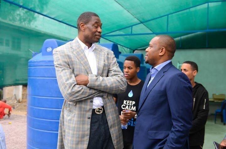 RDC: Dikembe Mutombo et Isaac Kalonji nouent un partenariat avec Quest Water Global