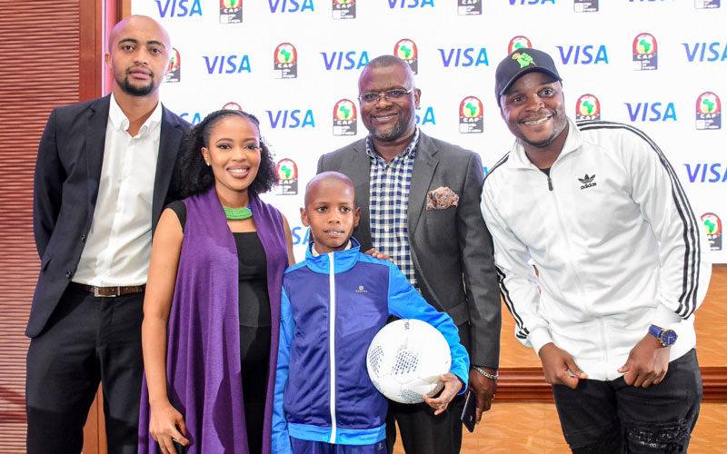 CAN 2019 : Lawrence Masira, 12 ans, nommé ambassadeur du programme «Visa Players Escort»