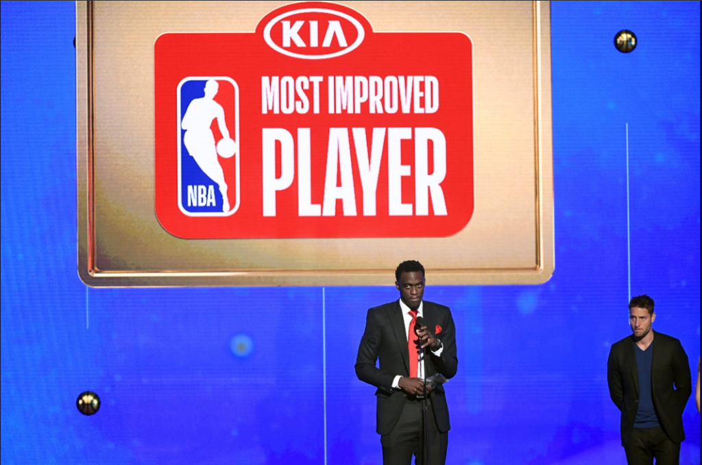 USA : Pascal Siakam élu « Most improved player » de la NBA