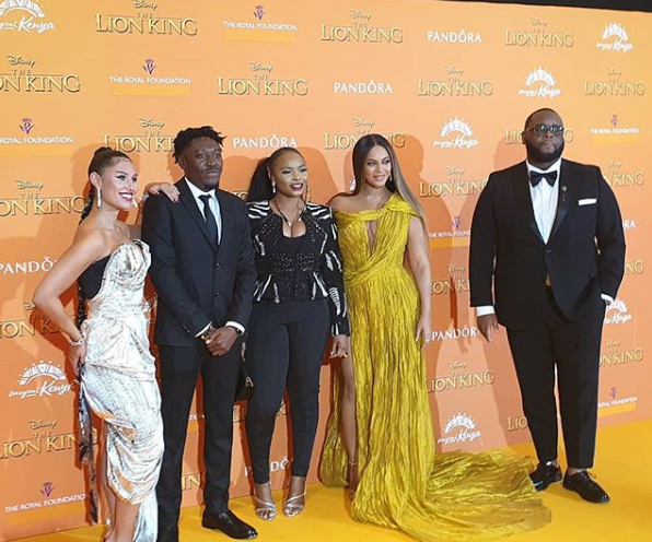 Des artistes africains invités sur l'album « The Lion King : The Gift » de Beyoncé