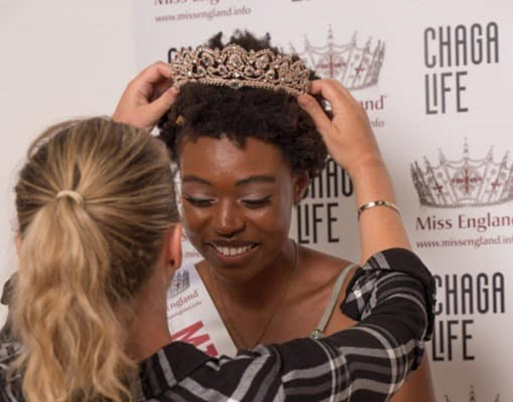 Royaume-Uni: Vimbai Chapungu, Miss Londres 2019/2020